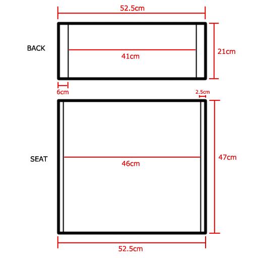 rouge metteur en sc ne chaises rechange polyur thane. Black Bedroom Furniture Sets. Home Design Ideas