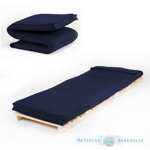 futon matratze einzelbett faltbar schaum f llung bezug. Black Bedroom Furniture Sets. Home Design Ideas