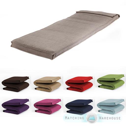 Simple taille futon matelas pliant mousse rempli - Matelas futon 1 place ...