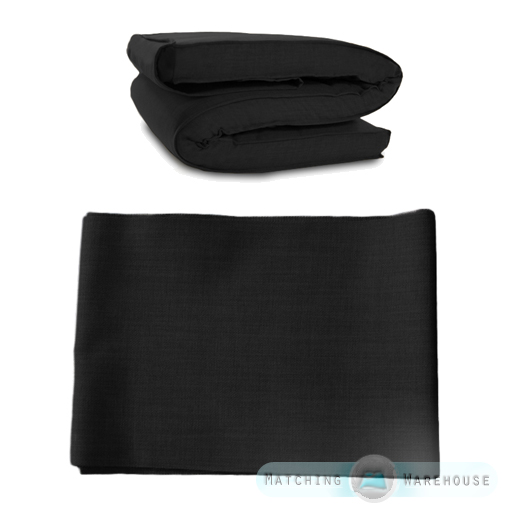 Fabric Spare Cover For Futon Mattress Single Amp