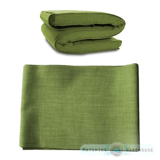 stoff ersatz berzug f r futon matratzen einfach doppelte gr e f r ikea massum ebay. Black Bedroom Furniture Sets. Home Design Ideas