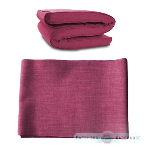 Fabric Spare Cover For Futon Mattress Single Amp