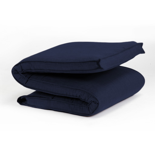 matelas de rechange pour futon pliable canap lit bleu une personne ebay. Black Bedroom Furniture Sets. Home Design Ideas