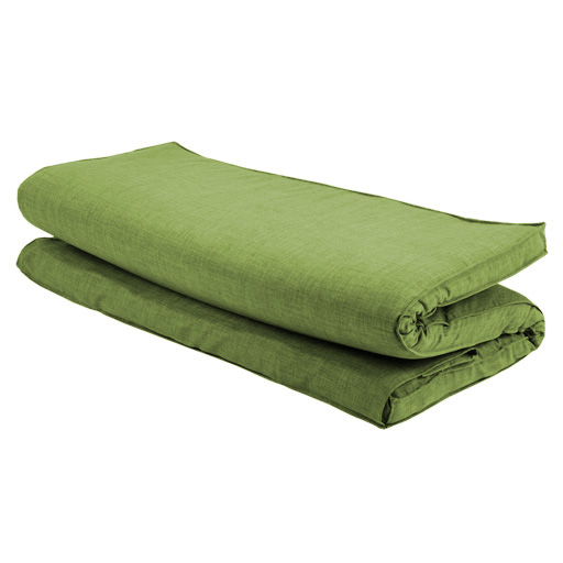Green Textured Fabric Double Folding Sleeping Bed Replacement ...
