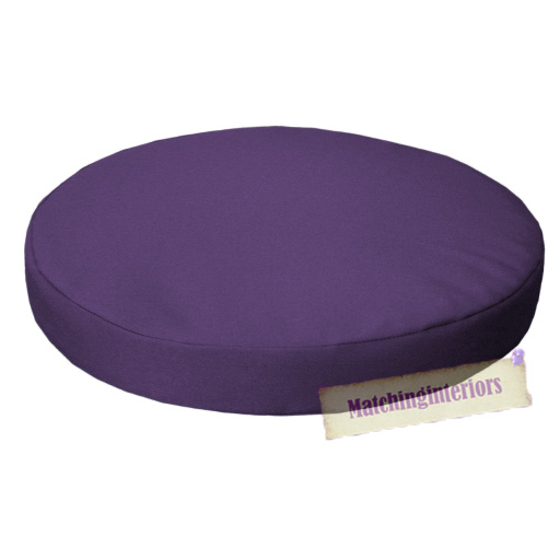 Purple 13quot Circular Round Water Resistant Garden Chair  : GP20G1120Purple from www.ebay.co.uk size 512 x 512 jpeg 121kB
