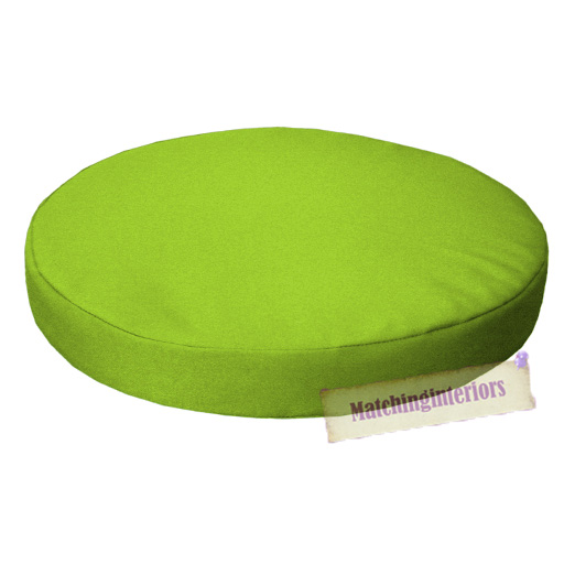 Lime 15 Quot Circular Round Water Resistant Garden Chair