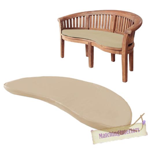 stein 2 sitzer wasserfest au en kissen garten banane tisch sitz polster ebay. Black Bedroom Furniture Sets. Home Design Ideas