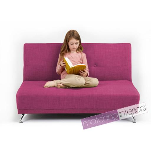 Rose fuchsia clic clac enfants 2 place sofa sofa lit invit soir e pyjama ebay - Clic clac en anglais ...