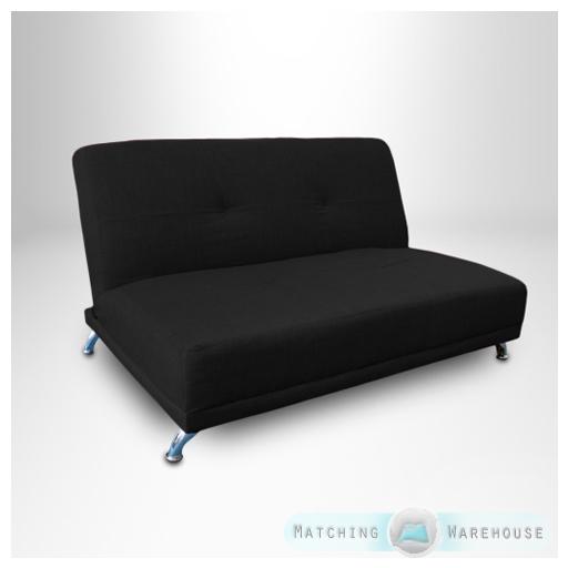 clic clac children 39 s kids 2 seater sofa bed guest. Black Bedroom Furniture Sets. Home Design Ideas