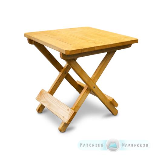 Table Basse Taille S EN Bois Snack PLI Jardin D'Extérieur Mobilier