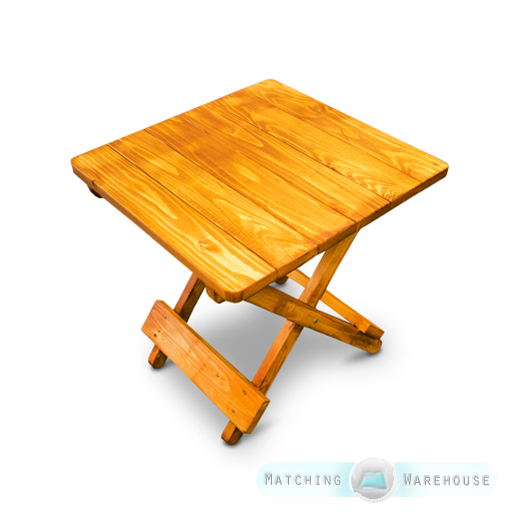 Wooden Outdoor Side Tables ~ Side table small wooden snack folding outdoor garden patio
