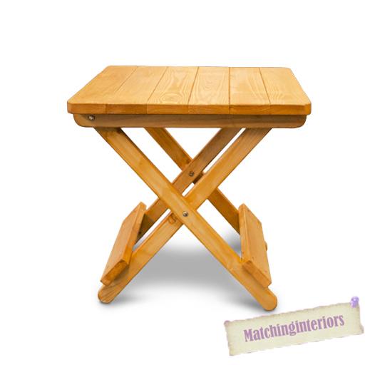 Oak couleur en bois cot pliable pique nique camping table for Table pliante petite taille