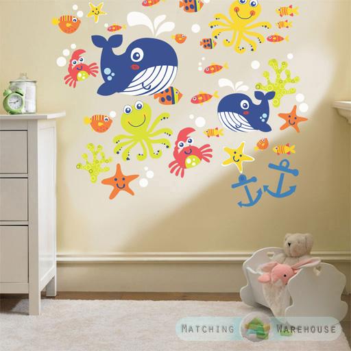 Kinder Themen Wand Dekoration Zimmer Aufkleber Sets Schlafzimmer ...