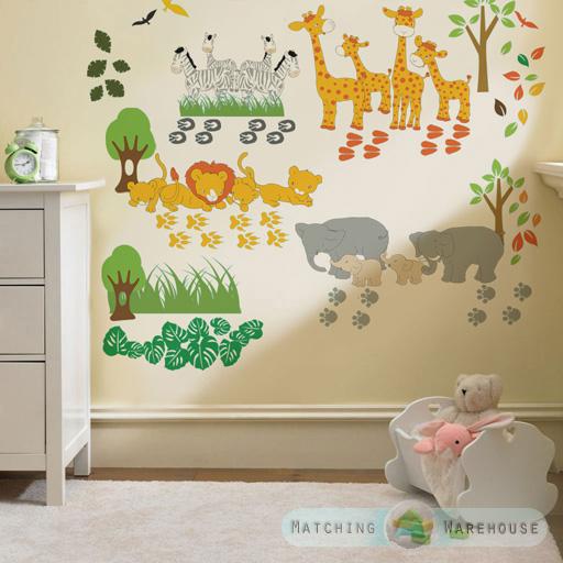 Kinder themen wand dekoration zimmer aufkleber sets for Kinder schlafzimmer