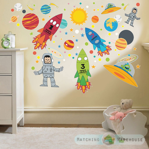 childrens kids themed wall decor room stickers sets jungle monkey children s wall sticker set by oakdene