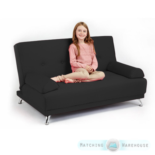 Childrens Cotton Twill Clic Clac Sofa Bed With