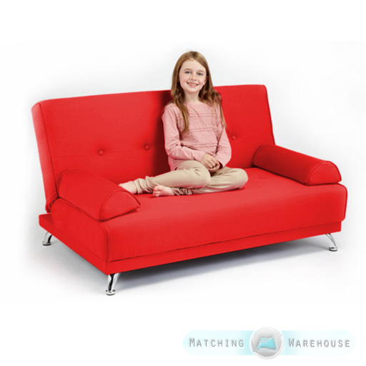 Childrens Cotton Twill Clic Clac Sofa Bed with Armrests  : CLS20S220Model20red from www.ebay.co.uk size 512 x 512 jpeg 149kB