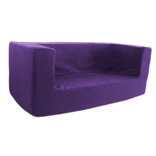 Sofa Seat Covers Only: Kids Children's Double Comfy Settee Toddlers Foam Sofa