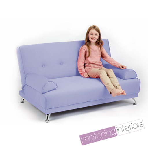 Childrens cotton twill clic clac sofa bed with armrests futon sofabed kids guest - Futon pour clic clac ...
