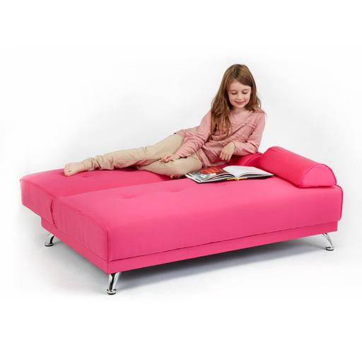 enfants coton serg clic clac sofa lit avec accoudoirs clic clac futon invit ebay. Black Bedroom Furniture Sets. Home Design Ideas