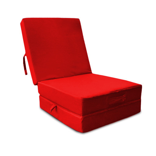 Waterproof Fold Out Cube Guest Z Bed Chair Stool Futon Chairbed Outdoor Garde