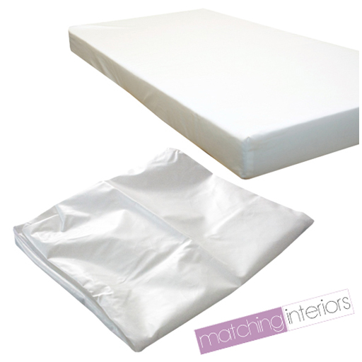 Waterproof Baby Cot Mattress Fully Breathable 120 X 60 X