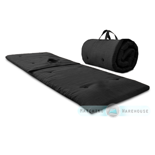 Roly-Poly-Guest-Sleep-Over-Mattress-Roll-Up-Futon-Z-Bed-Folding-Single-Visitor