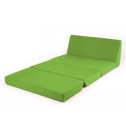 Citron vert repli lit z doubles chaise 2 places divan lit for Divan lit 2 places