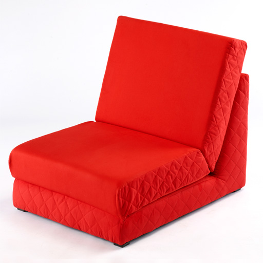 rouge pliant lit z simple fauteuil lit 2 places divan repli invit lits matelas ebay. Black Bedroom Furniture Sets. Home Design Ideas