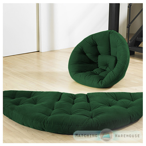 nest futon chaise si ge matelas lit canap coton serg pliable chaise longue fauteuil ebay. Black Bedroom Furniture Sets. Home Design Ideas