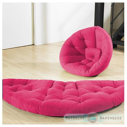 Nest Futon Chair Seat Mattress Bed Sofa Cotton