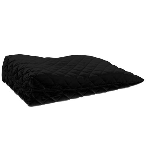 Black Orthopaedic Contour Leg Raise Pillow Foot Rest