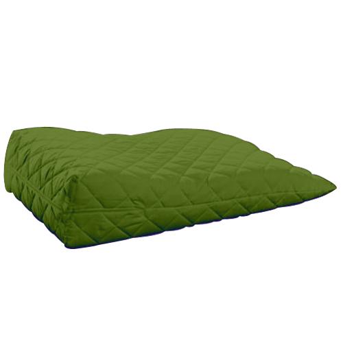 lime orthopaedic contour leg raise pillow foot rest cotton