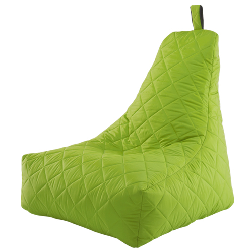 giant bean bag chair quilted in outdoor waterproof gamer. Black Bedroom Furniture Sets. Home Design Ideas