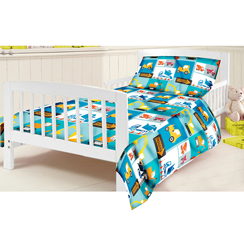 Childrens Junior Cot Bed Duvet Cover Amp Pillowcase Set