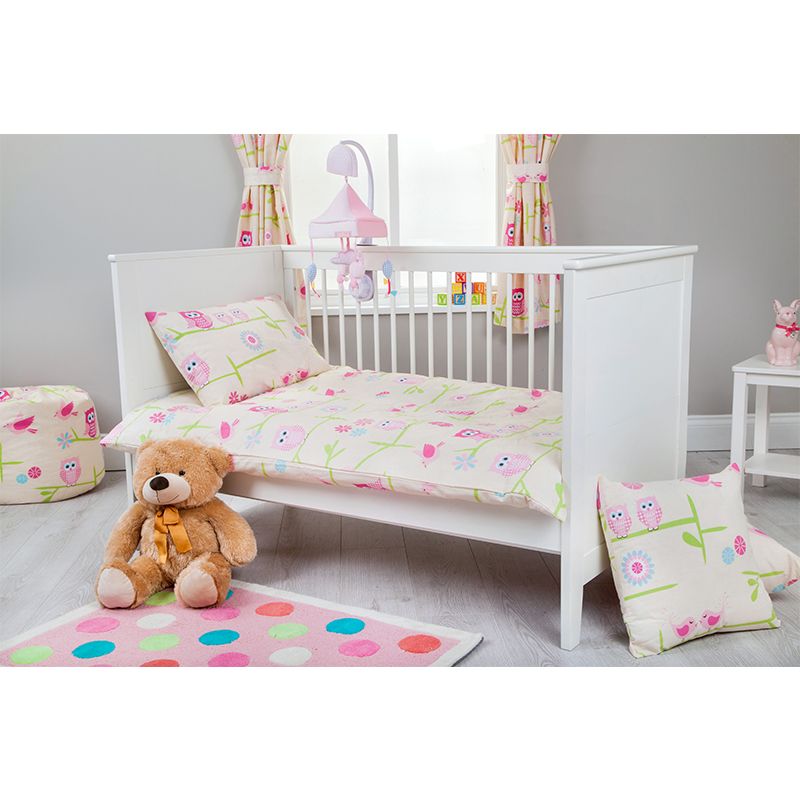 Cot Size Baby Children's Bedding Set Duvet Cover & Pillow ...
