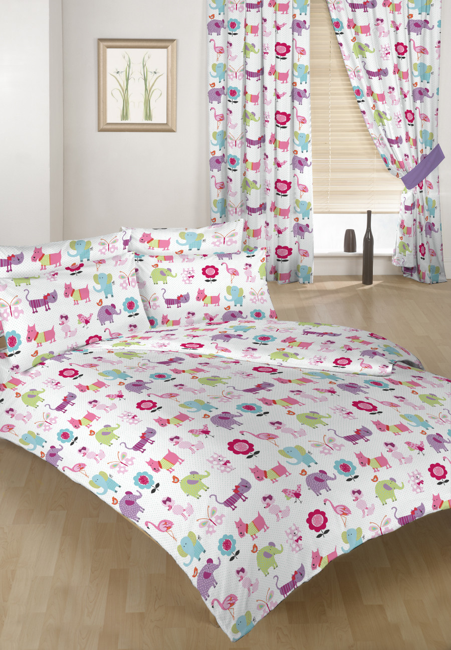 Childrens bedding double size duvet qulit covers 2 for Childrens double beds