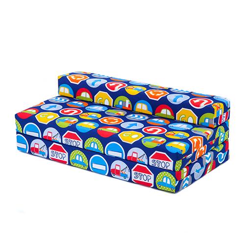 childrens kids double guest folding z chair bed mattress. Black Bedroom Furniture Sets. Home Design Ideas