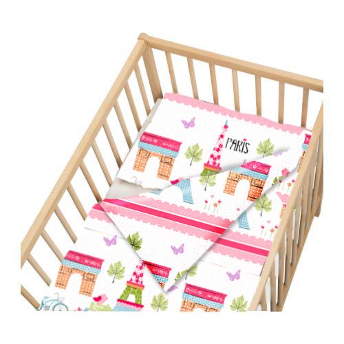 Paris lit d 39 enfant berceau taille couverture duvet set for Housse de couette traduction