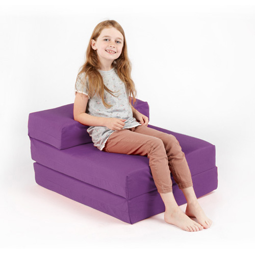 Single Fold Out Block Foam Z Bed Sofabed