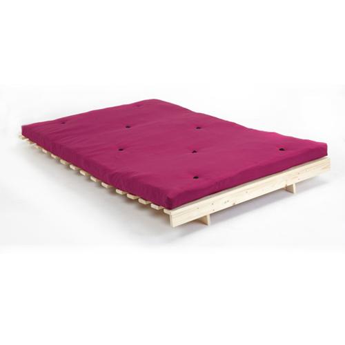 pink 4ft double children 39 s bedroom futon wooden sofa bed