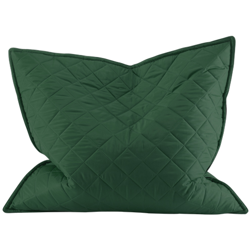 Green Floor Pillows : Green Water Resistant XL Giant Outdoor Quilted Bean Bag Floor Cushion Garden eBay
