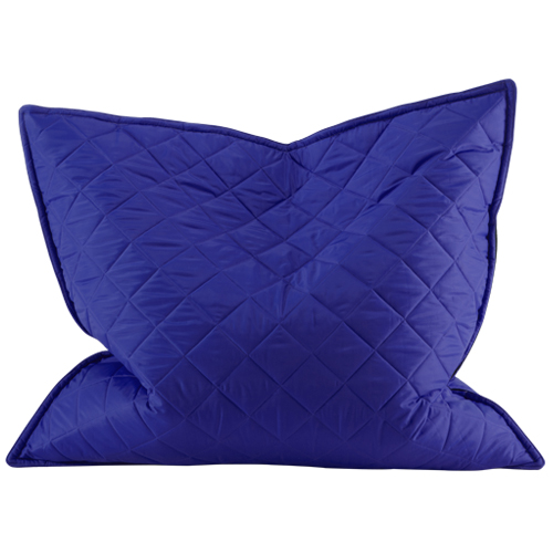 Xl Floor Pillows : Blue Water Resistant XL Giant Outdoor Quilted Bean Bag Floor Cushion Garden Seat eBay
