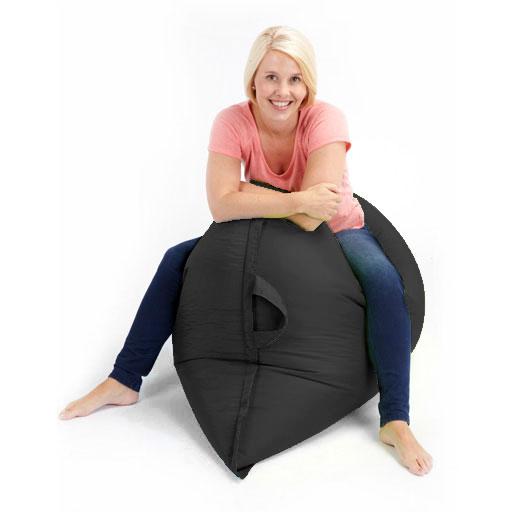xxl giant floor cushion outdoor bean bag garden furniture waterproof seat chair. Black Bedroom Furniture Sets. Home Design Ideas