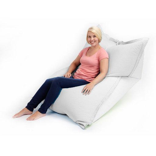 xxl giant floor cushion outdoor bean bag garden furniture waterproof seat chair ebay - Giant Bean Bags