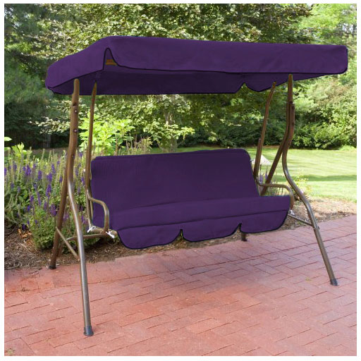 Replacement 3 Seater Swing Seat Canopy Cover And