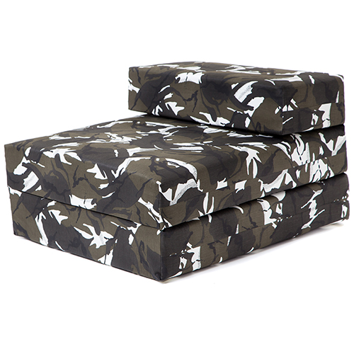 Camouflage Design Boys Bedroom Chair Beds Single Or Double