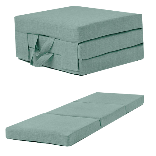 Fold Out Guest Mattress Foam Bed Single & Double Sizes Futon Z bed Foldin