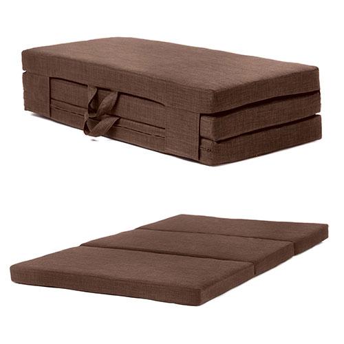 Fold Out Guest Mattress Foam Bed Single & Double Sizes