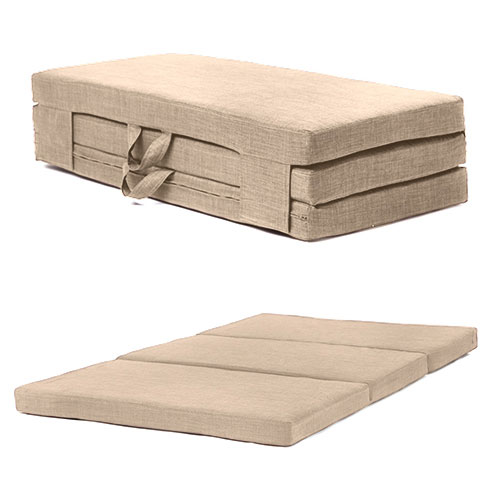 Fold Out Guest Mattress Foam Bed Single Amp